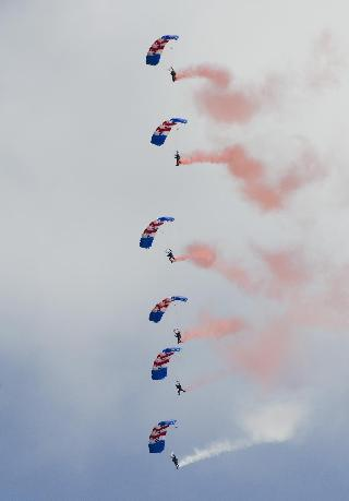 RAF Falcons Display Team